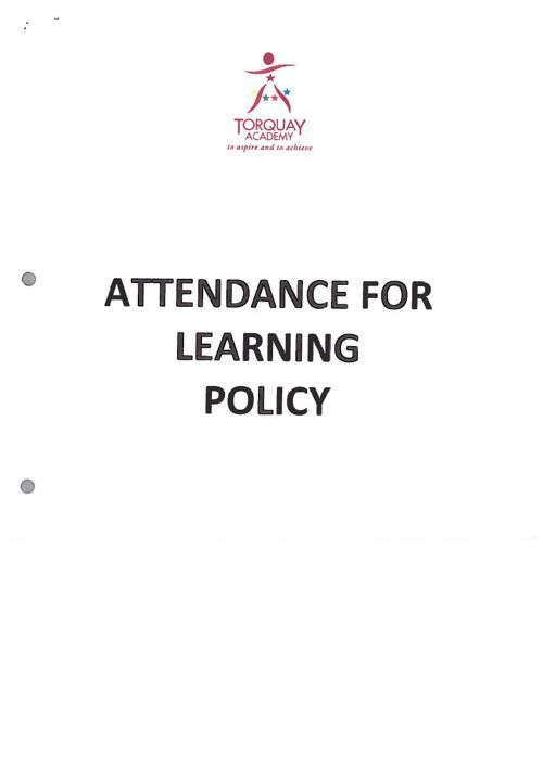 Attendance for Learning Jan 2015