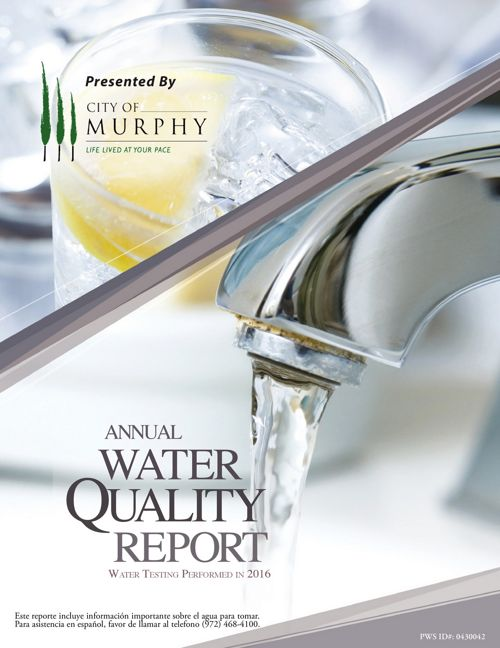 2016 Annual Water Quality Report