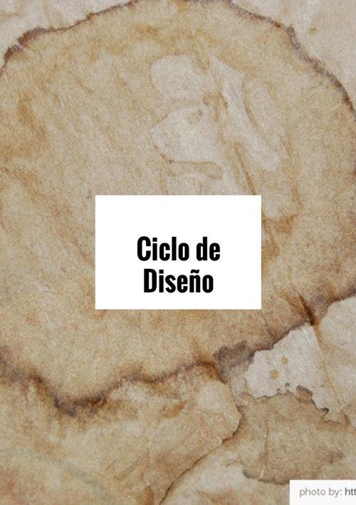 Ciclo de diseño.2