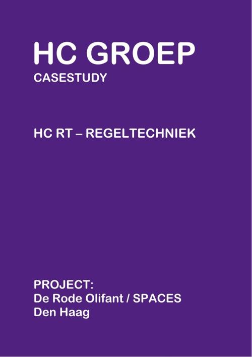 HC RT Case studie - project De Rode Olifant (SPACES) - Den Haag