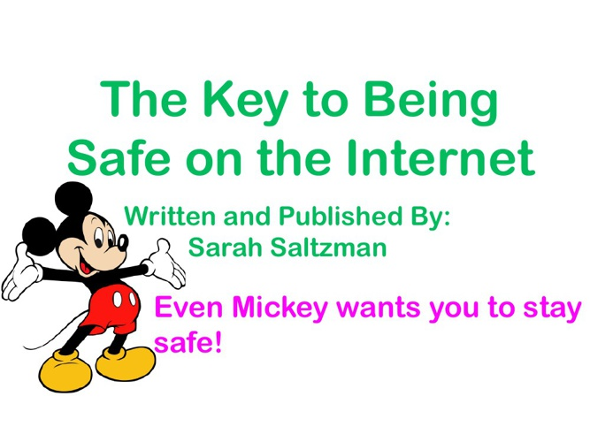 The Key to Being Safe on the Internet