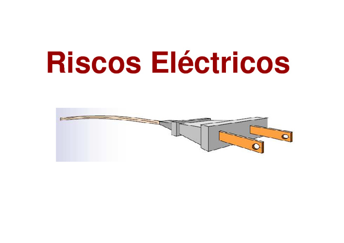 Riscos eléctricos