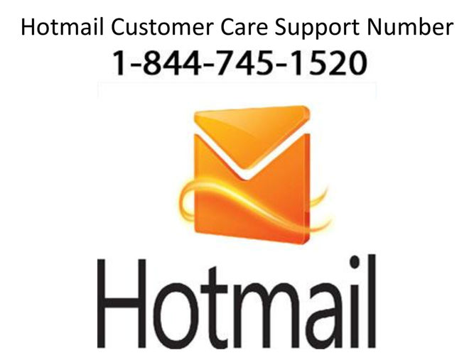 Hotmail Customer Care Number l Hotmail Support