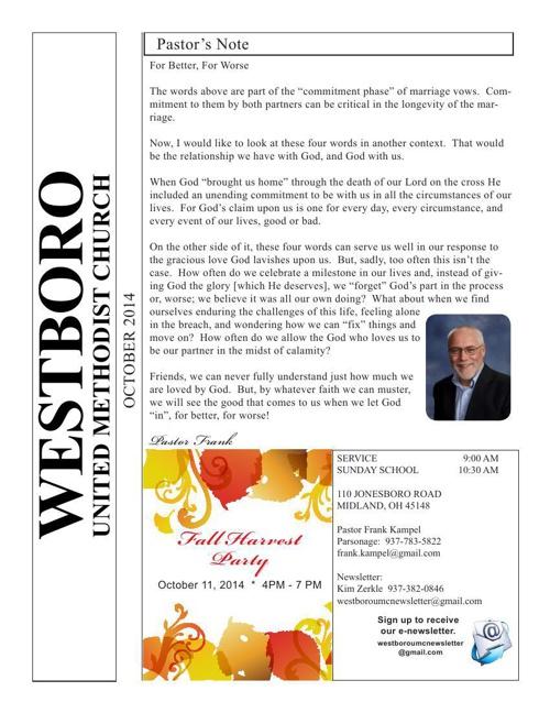 2014-OCT_WUMC_Newsletter