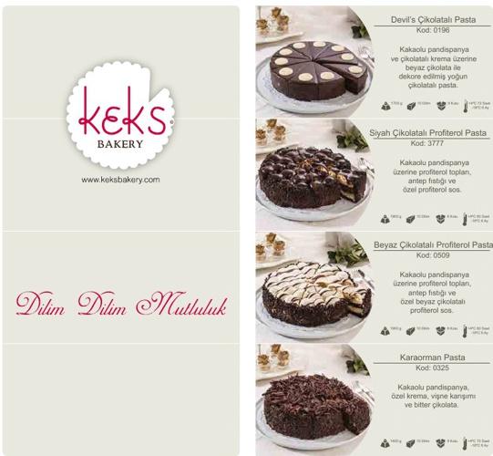 Kek's Bakery e-katalog