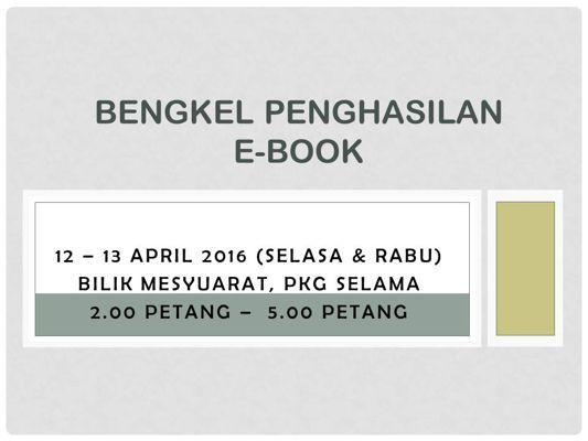 Slide1BENGKEL E-BOOK