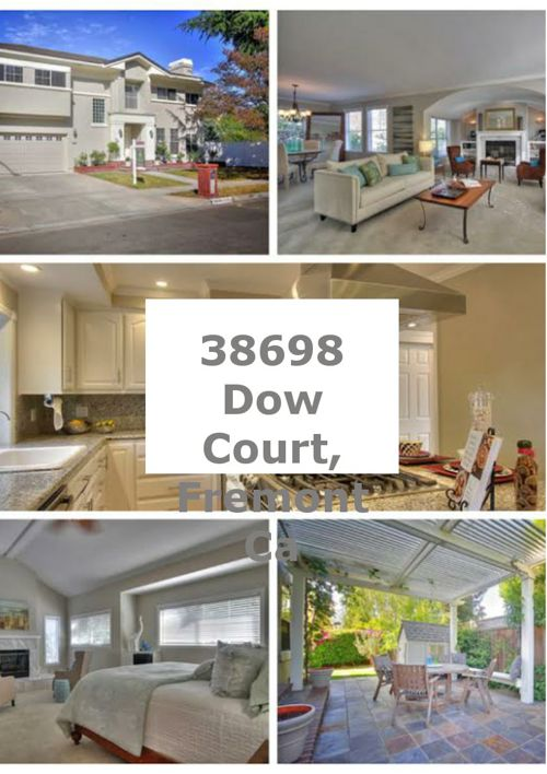 38698 Dow Court, Fremont Ca