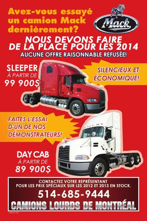 Camions MACK Truck 2013