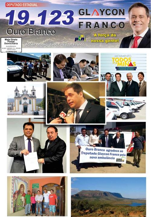 Jornal Ouro Branco - Glaycon Franco
