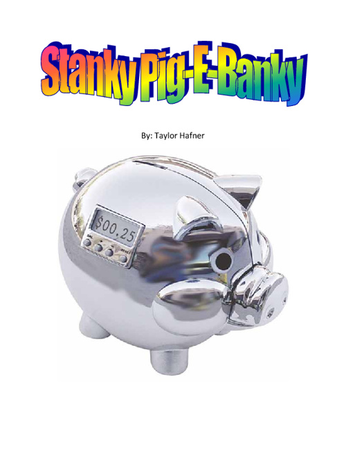 Stanky Pig-E-Banky
