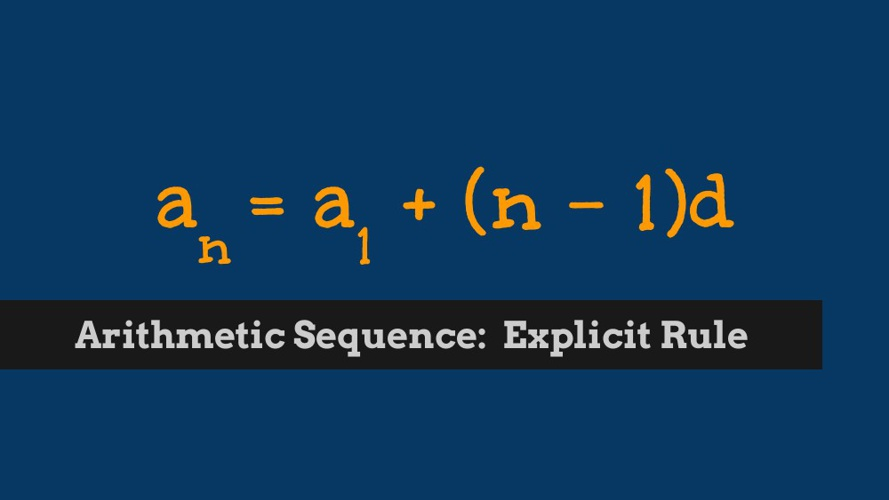 Chapter 9 Sequences and Series Formulas - Google Drive