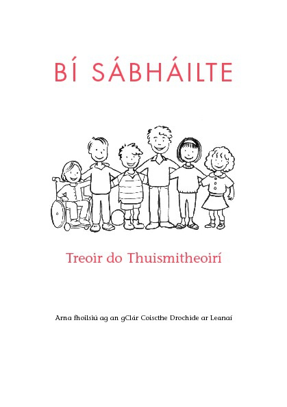 Stay Safe - Gaeilge - Parent's guide