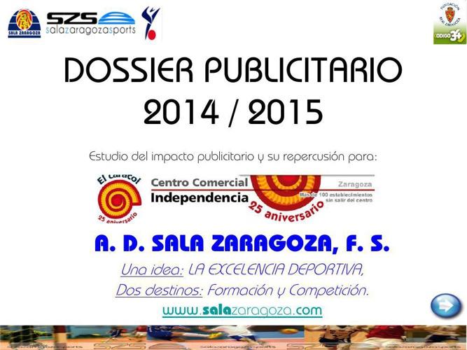 DOSSIER PUBLICITARIO 2014_15 EL CARACOL