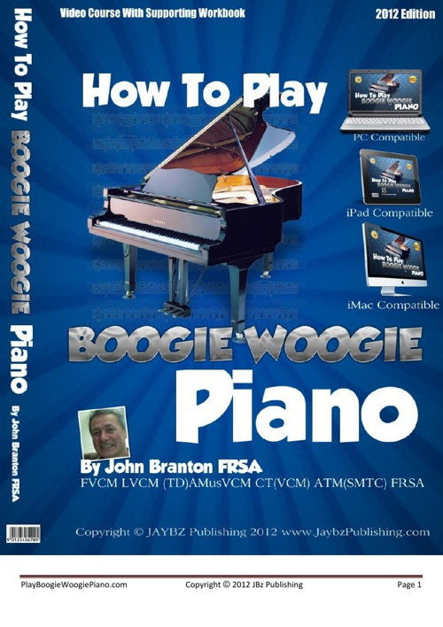 Play Boogie Woogie Piano Volume 1
