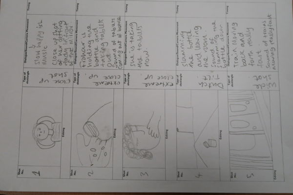 STORY BOARD FOR GUILT-TRIP