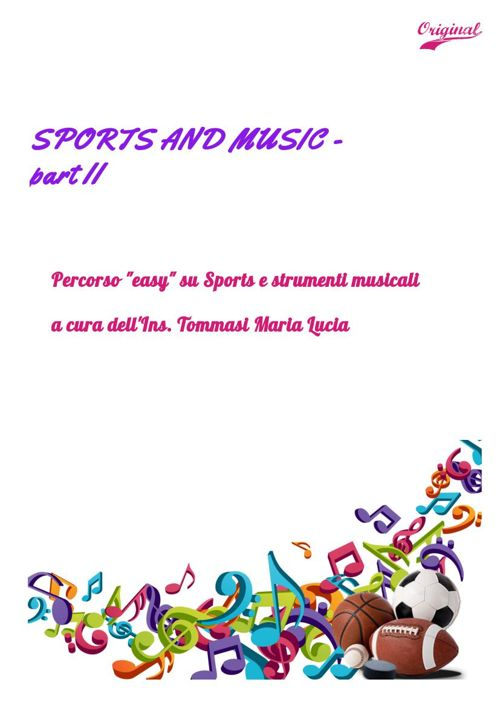 SPORTS AND MUSIC- part II