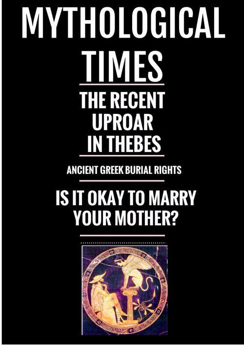 Antigone/Oedipus Newspaper