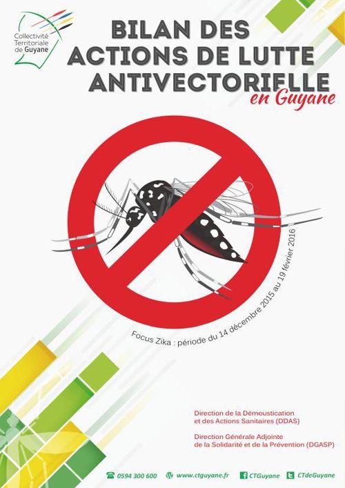 Bilan des actions de lutte antivectorielle en Guyane