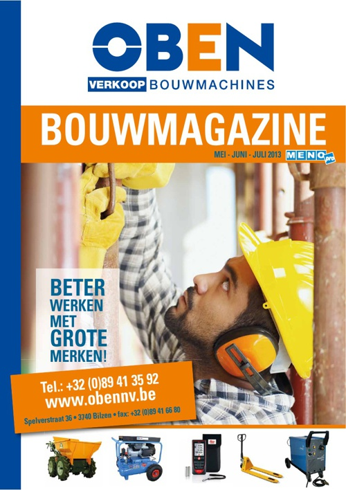 Oben Bouwmagazine 2013