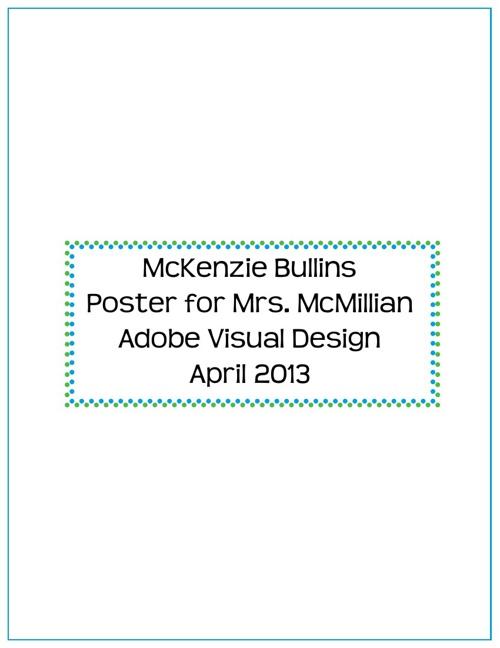 Poster Design Final Report