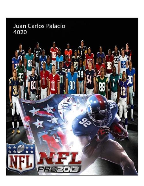 NFL Juan Carlos Palacio