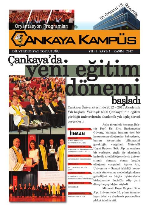 Çankaya Kampüs - Kasım 2012