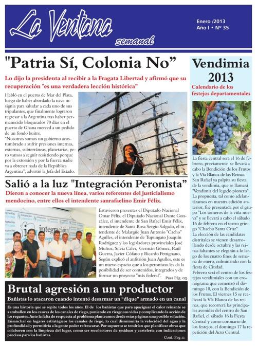 Revista La Ventana Nº 35