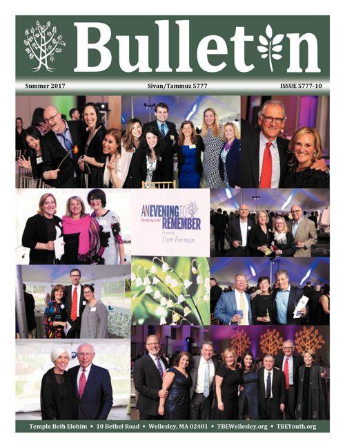 TBE June/Summer 2017 Bulletin