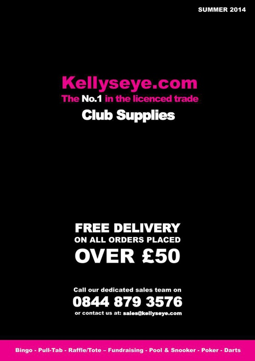 Club Supplies Brochure