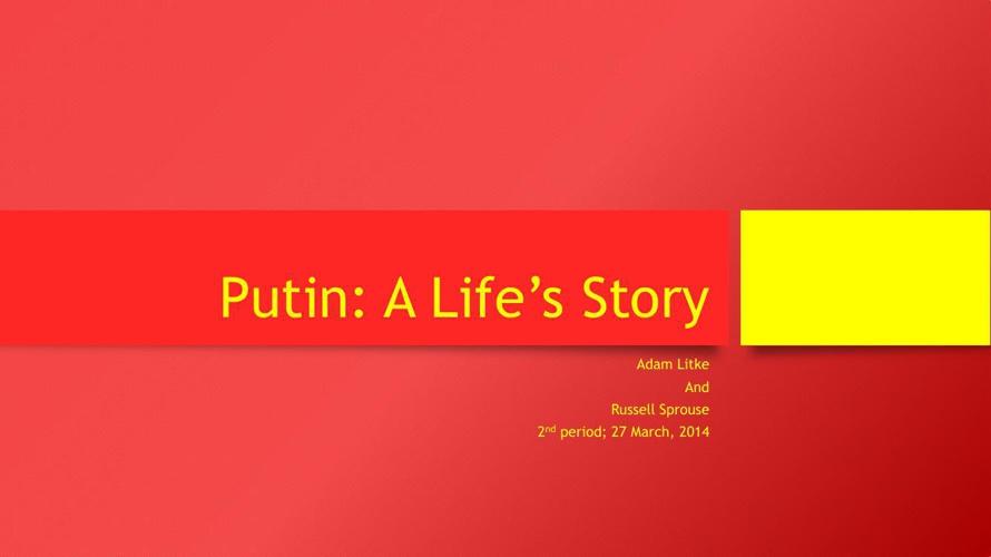 Happy Putin Times