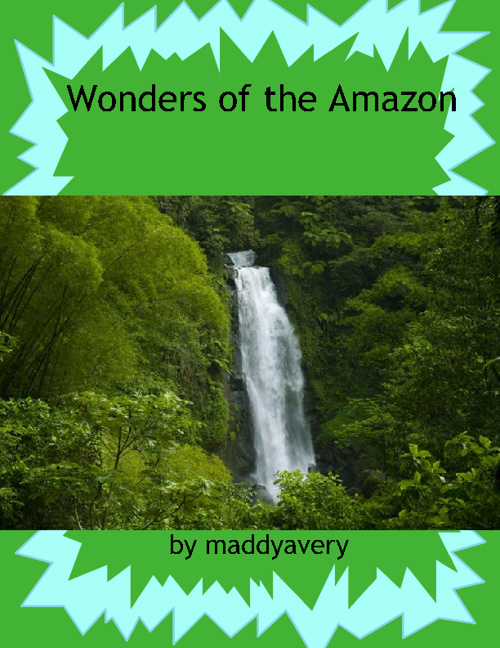 Wonders of Amazon by Maddy