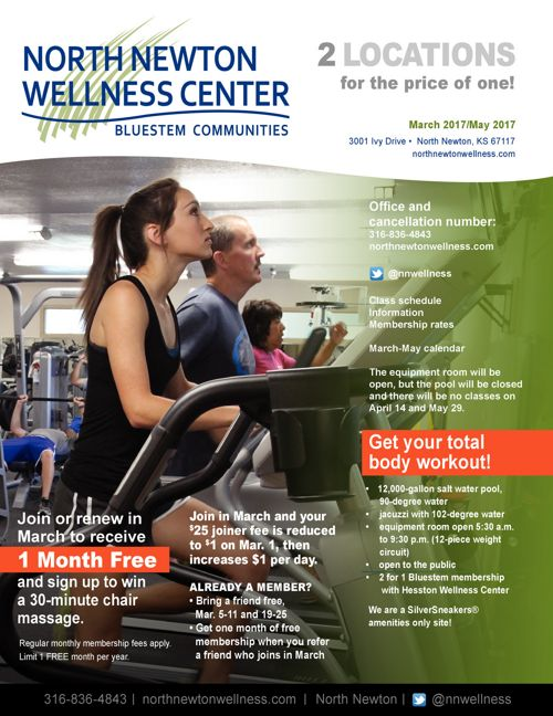 Spring 2017 | North Newton Wellness Center News