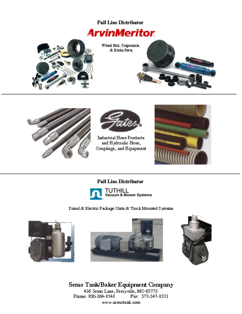 SEMO Tank Parts Catalog