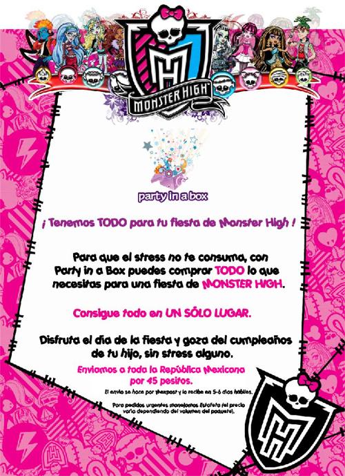 Catálogo Monster High