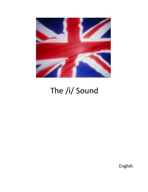 The /i/ Sound