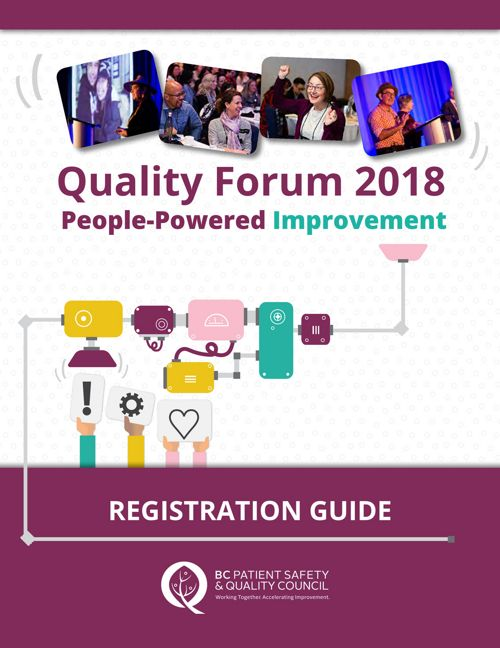 Quality Forum 2018 Registration Guide