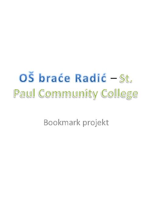 bookmark projekt