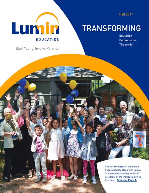 Lumin Education Fall 2017 Newsletter