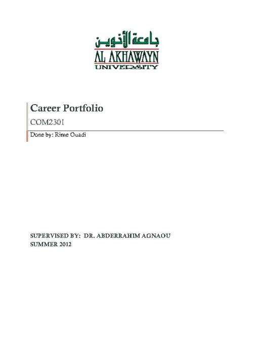 OuadiRime_CareerPortfolio