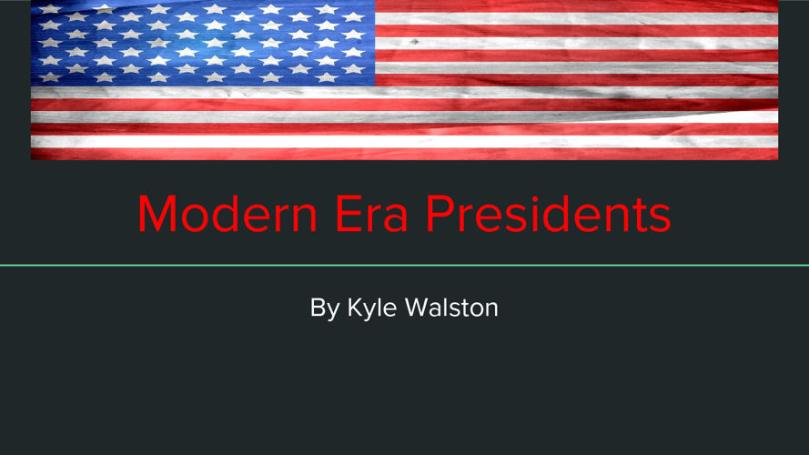 Modern Era Presidents