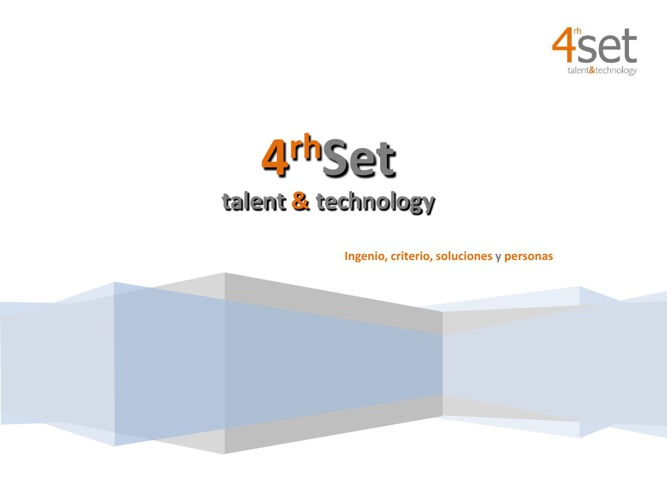 CUARHTO SET TALENT & TECHNOLOGY
