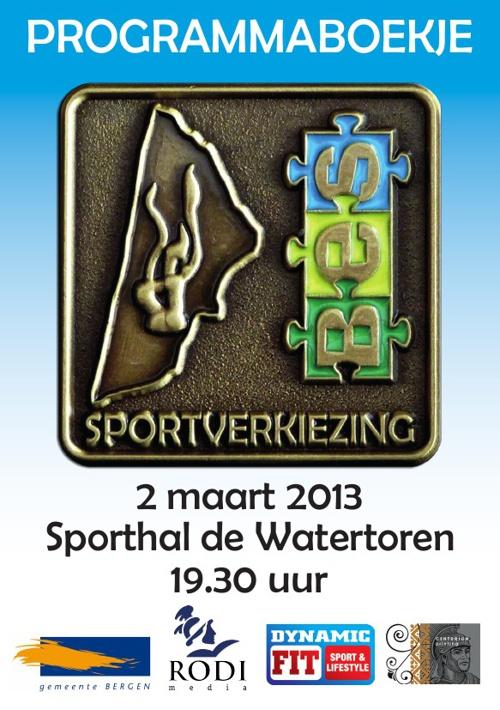 Programmaboekje Sportverkiezing BES
