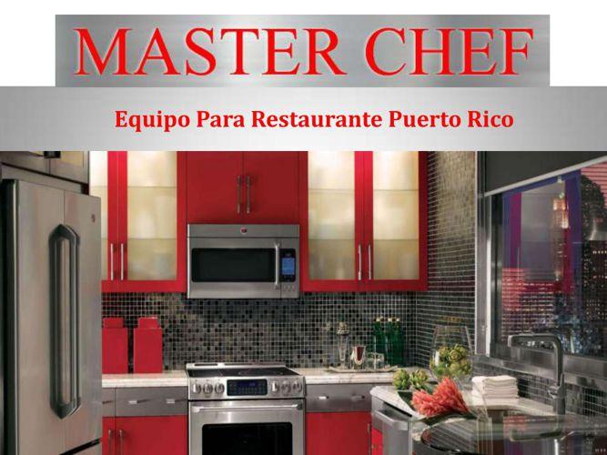 Equipo Para Restaurante Puerto Rico