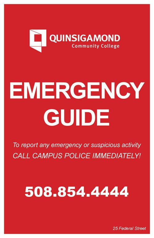 5.5x8.5 Emergency Guide Downtown numbers include blanks