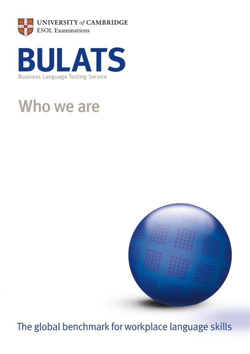 BULATS - Who We Are
