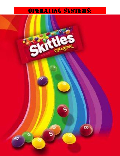 Operating systems: Skittles