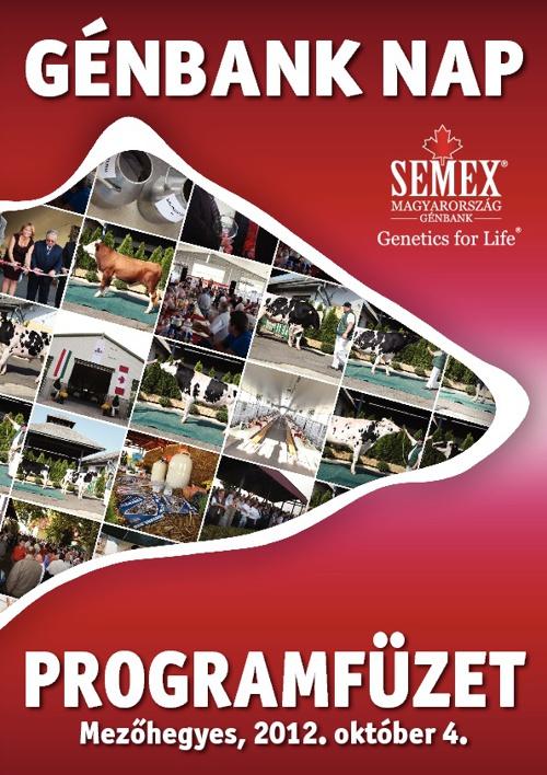 Programfüzet 2012 Génbank Nap