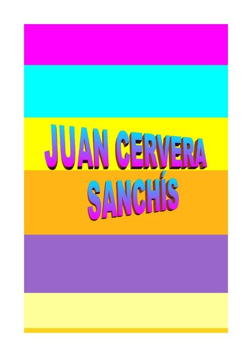 JUAN CERVERA SANCHÍS