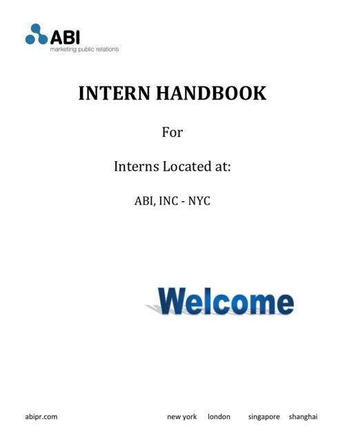 Intern Handbook_with Signature
