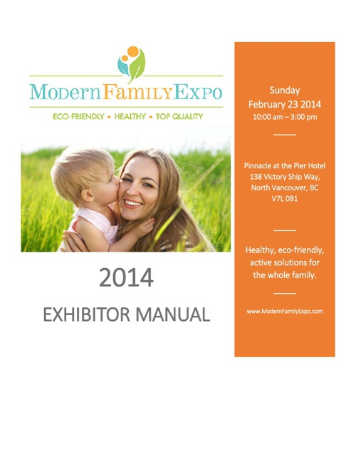 Exhibitor Info Manual 2014